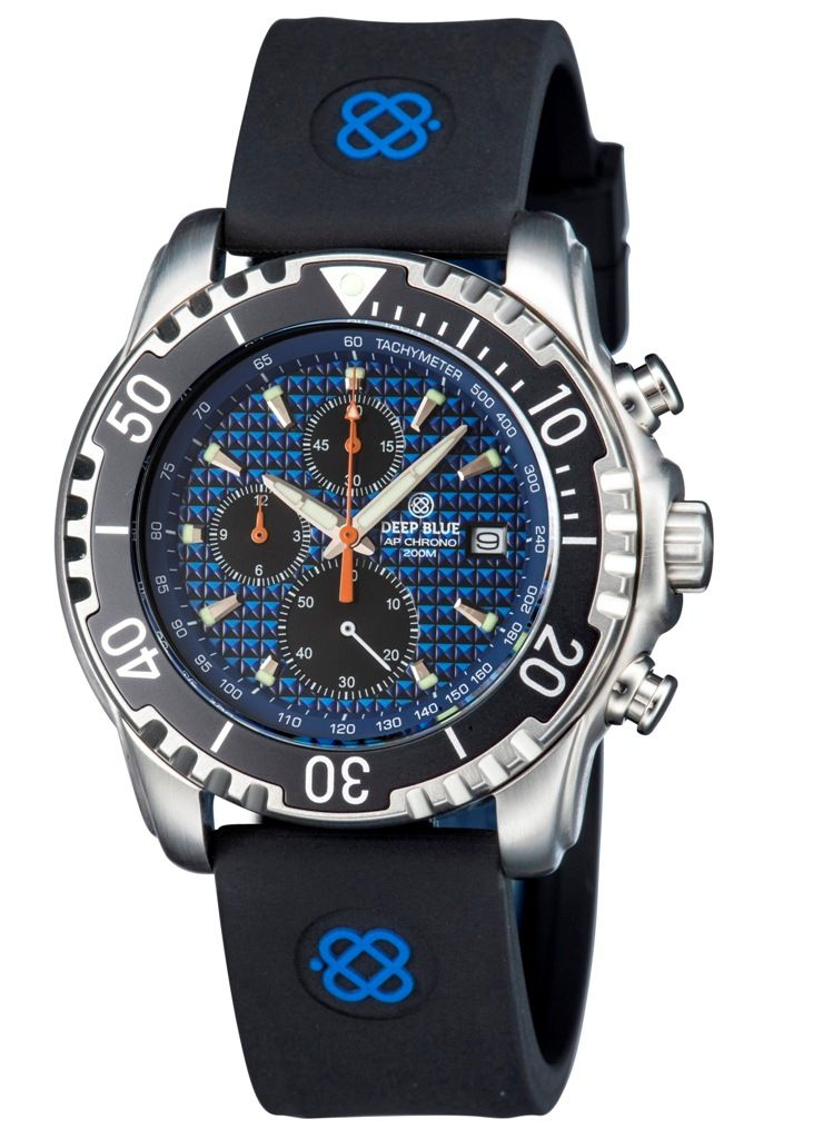 All Purpose AP Quartz Diver Blue