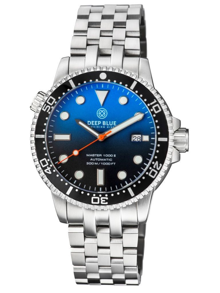 Diver 1000 II Auto 40MM Blue Gradient Engineer Bracelet