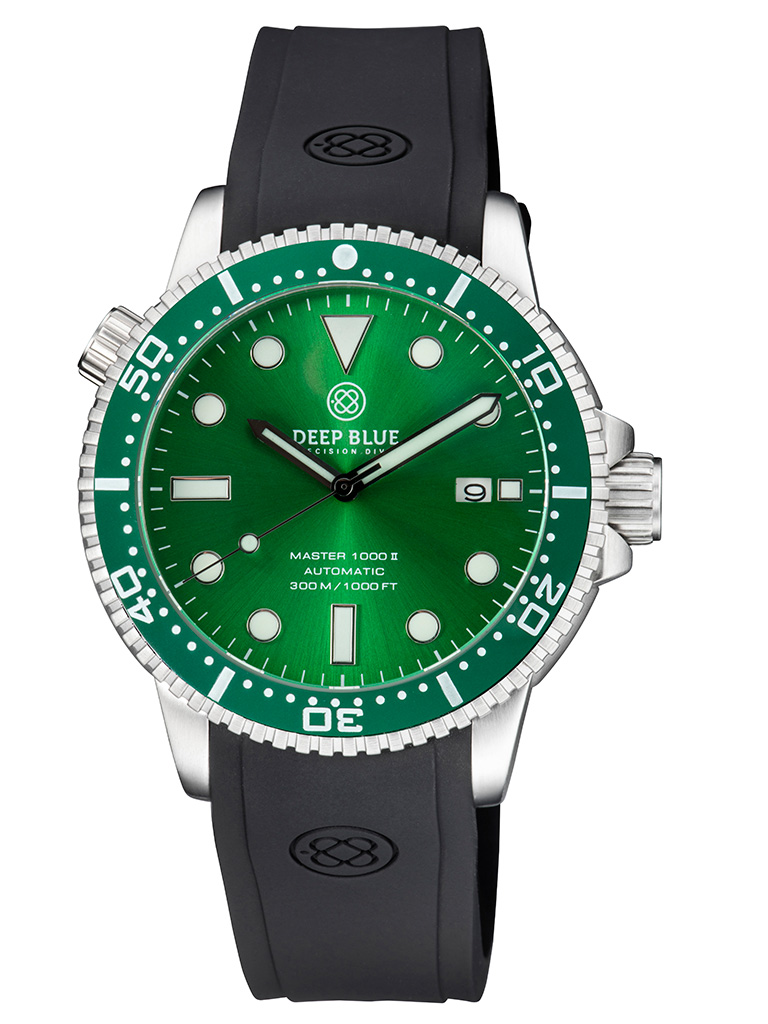 Master 1000 II 44MM Green Sunray / Green Bezel