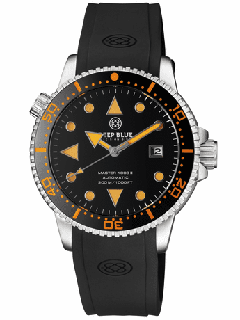 Master 1000 II 44MM Black Orange Arrow Vintage